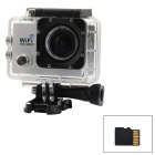 "2.0"" LTPS CMOS 14MP 1080P Mini DV / Sports Camera w/ TF, Wi-Fi - White+ Black"