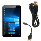 "VIDO W8X 8.0"" Windows Tablet PC con 2 GB de RAM, ROM de 32 GB - blanco + negro"