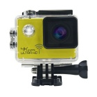 "170' Wide Angle Waterproof Sports Camera Camcorder w/ Mini HDMI / 2.0"" HD LTPS LCD - Yellow + Black"