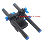 YELANGU Video Shooting Dual Handle Rig Camera Shoulder Mount Holder