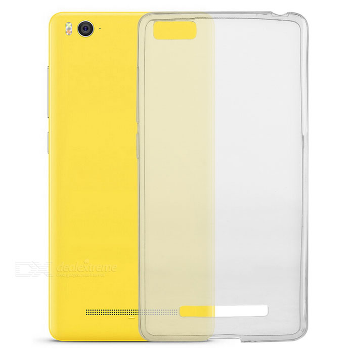 TPU Back Case w/ Screen Protector for Xiaomi 4C - Transparent