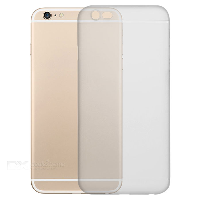 Matte Plastic Back Case Cover for IPHONE 6S - Translucent White