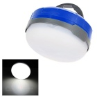 QOOFY 1W 3-LED 3-Mode 100lm 6000K White Light Outdoor Hanging Camping Lantern Lamp - Blue + White
