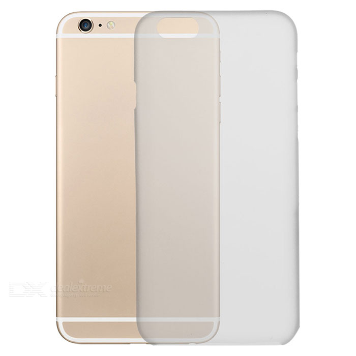 Protective Matte PP Back Case for IPHONE 6 / 6S - Transparent White