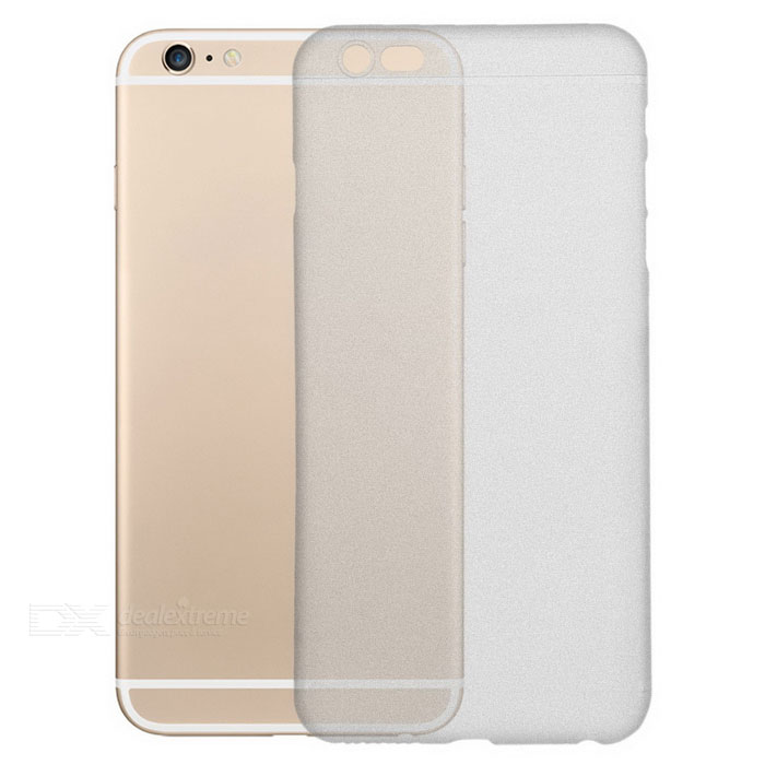 0.3mm protector mate de nuevo caso para IPHONE 6S PLUS -transparent blanco
