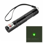 5mW Aluminum Alloy Green Light Bike Laser Pointer - Black