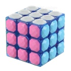 3*3*3 Diamonds Design Magic Rubik's Cube Puzzle Toy - Multi-Color