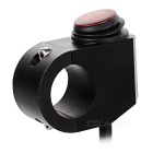 DIY Motorcycle Handlebar Waterproof Switch for Headlight - Black + Red