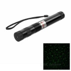 5mW Stars Style Green Light Bike Laser Pointer - Black