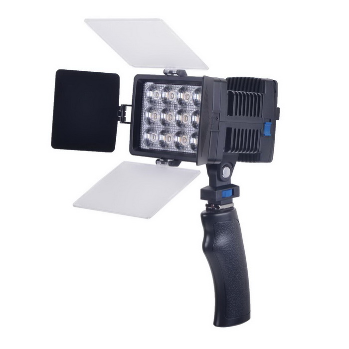 LED-1040A 36W 3500K/6000K 12-LED Video Light Camera Photography Light