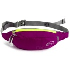 Wind Tour Multifunctional Outdoor Sports Water Resistant Waist Bag w/ Adjustable Strap - Deep Pink