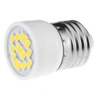 E27 3W 360lm 5730 15-LED High Bright Warm White Mini Spot Light Bulb