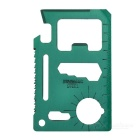Multi-Function Carbon Steel Tool Knife Card - Army Green