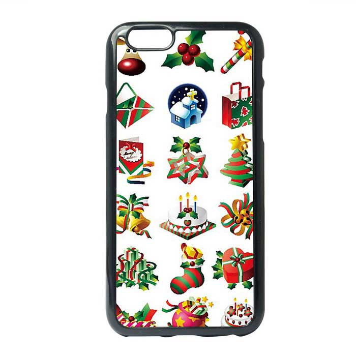 Christmas Gifts Painting Style Protective TPU Back Case for IPHONE 6 / 6S PLUS
