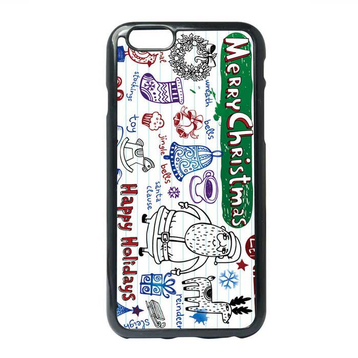 Christmas Santa Claus Painting Style TPU Back Case for IPHONE 6 / 6S