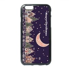 Stars Moon in the Sky Pattern TPU Back Case for IPHONE 6 / 6S - Purple