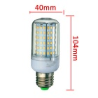 E27 18W LED Corn Bulb Lamp Warm White Light 3000K 1650lm 126-SMD 2835