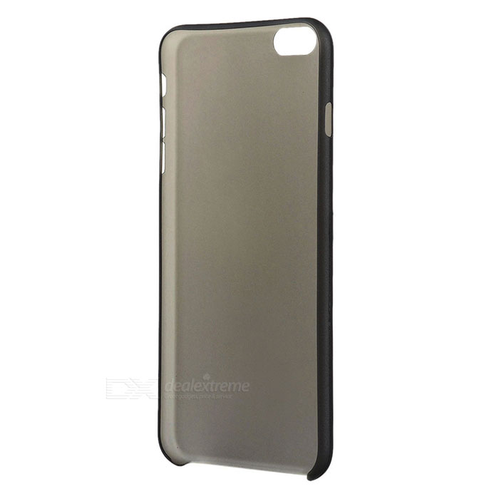 S-What Matte Back Case for IPHONE 6 PLUS / 6S PLUS - Transparent Black