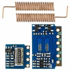 Buy Mini RF Transmitter Receiver Module 433MHz Wireless Kit Arduino