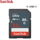 SanDisk Ultra 32GB SDHC Class 10 UHS-1 48MB/s Memory Card