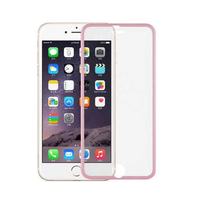Angibabe 0.3mm 3D Curved Full Screen Protector Guard Film for IPHONE 6 / 6S - Pink