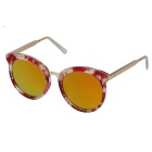Women's Fashionable UV400 Protection REVO PC Lenses Sunglasses - Transparent Red