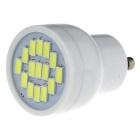 GU10 3W 560lm 5730 15-LED Bright Mini LED Spot Light Bulb Cool White