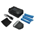 Coolcold Ice Troll 3 Laptop 3000RPM Turbine Aspirator Cooler - Black