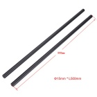 15 x 500mm Aluminum Alloy Rods for Camera Cage Rod Rails System (2PCS)