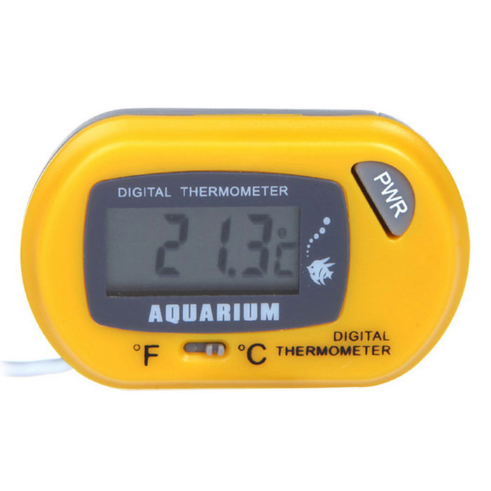 LCD Digital Fish Tank Aquarium Thermometer Water Terrarium