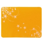 Thickened Silicone Bowl Spoon Dish Dinner Placemat / Heat Insulation Table Coaster Pad Mat - Orange