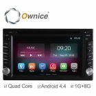 "Ownice C200 6.2"" Quad-Core Android 4.4 2-Din Car DVD Player for Nissan X-trail / Tiida / Qashqai"
