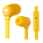 MOGCO M5 Universal High Quality 3.5mm In-Ear Earphones w/ Mic. - Yellow