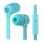 MOGCO M5 Universal High Quality 3.5mm In-Ear Earphones w/ Mic. - Blue
