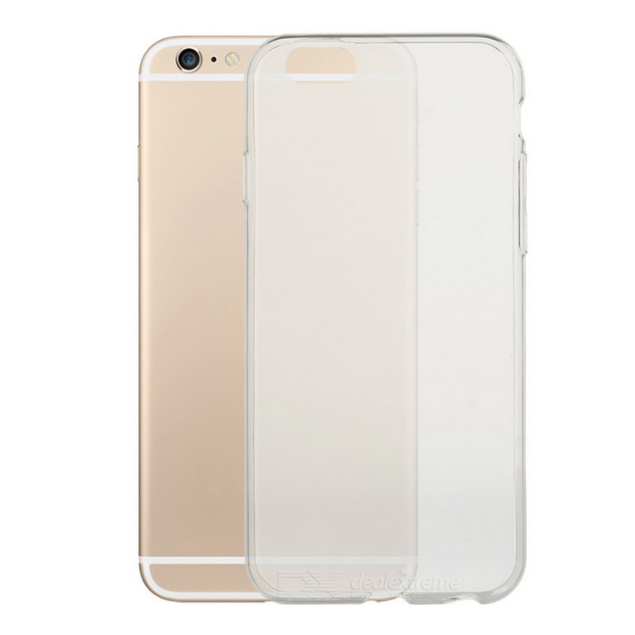 Protective Ultra-Thin TPU Back Case Cover for IPHONE 6S - TransparentTPU Cases<br>Form ColorTransparentModelN/AMaterialTPUQuantity1 DX.PCM.Model.AttributeModel.UnitShade Of ColorTransparentCompatible ModelsIPHONE 6SPacking List1 x Case<br>