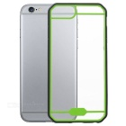 Protective TPU + PC Back Case Cover for IPHONE 6 / 6S - Black + Green