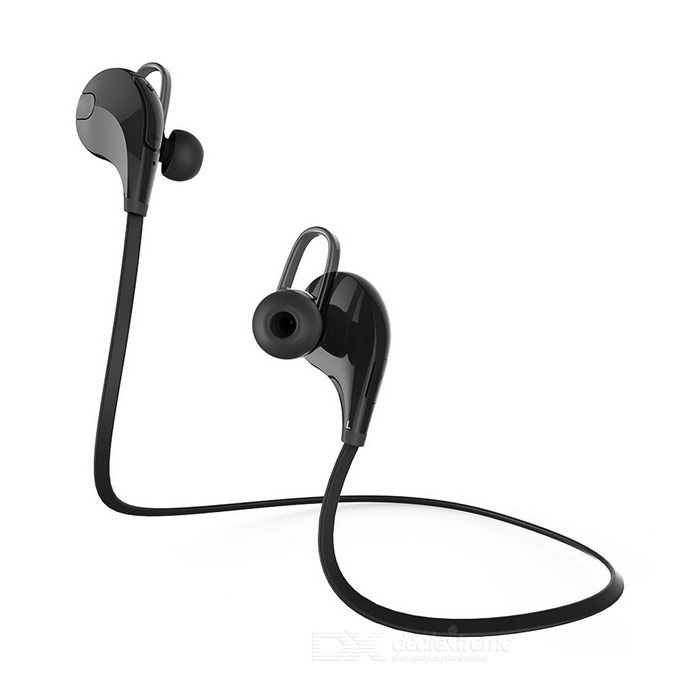 Outdoor Sports Bluetooth V4.0 In-Ear Earphone w/ Mic - Black