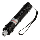 YX-013 5mW sterne Green Light einstellbarer Brenn Bike Laser Pointer - Schwarz