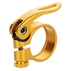 QUARRY KC88 34.9mm Ultralight Aluminum Alloy Bike Quick Release Seat Post Seatpost Clamp - Golden