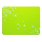 Thickened Silicone Bowl Spoon Dish Dinner Placemat / Heat Insulation Table Coaster Pad Mat - Green