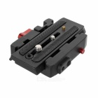 Rapid Connecting Adapter Quick Release Plate Compatible with 501PL for Manfrotto 701HDV Fluid Head