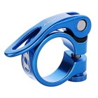 QUARRY KC88 31.8mm Bike Quick Release Seat Post Seatpost Clamp - Blue