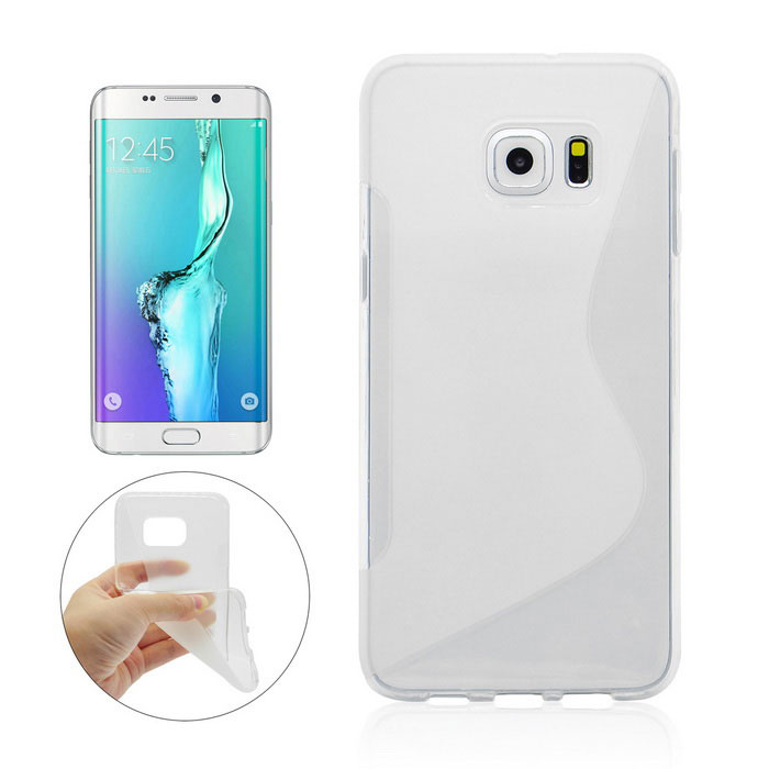 Angibabe Back Case for Samsung Galaxy S6 Edge Plus G9280 - Transparent