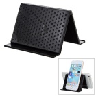 Multi-Function Folding Car Anti-Slip Mat Pad Holder for Cellphone - Black