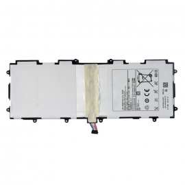 6500mAh Battery Panel for Samsung Galaxy Tab 10.1 P5100 + More - White