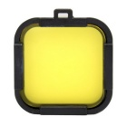35mm Lens Protector Cover Filter Lens for Gopro Hero 4 session - Yellow