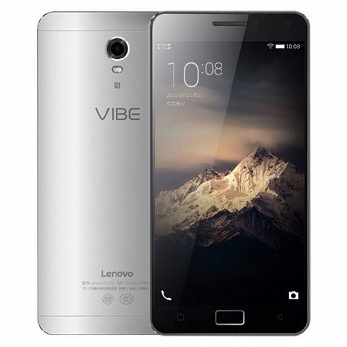 "Lenovo P1 15.5"" Android 4G Phone w/ 2GB RAM, 16GB ROM, NFC - Silver"