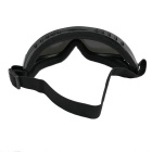 Outdoor Cycling Windproof PVC Lens Goggles - Grey + Multicolor