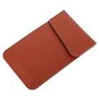 Anti-Radiation Cell Phone PU Rest Bag - Brown (2PCS)