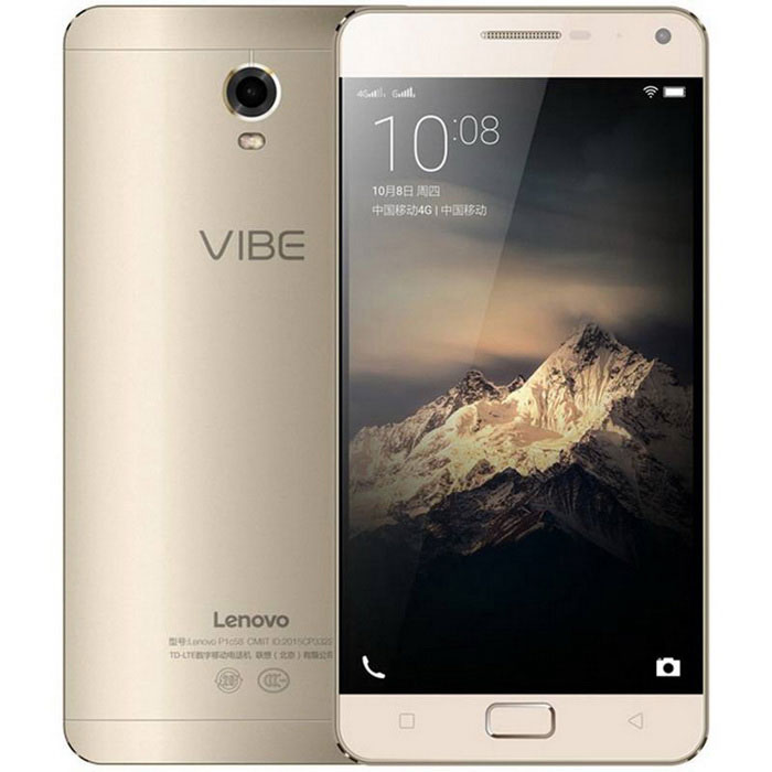 "Lenovo P1 5.5"" Android 4G Phone w/ 2GB RAM, 16GB ROM - Golden"